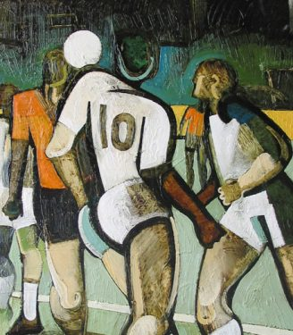 Geoff Key Sports paintings