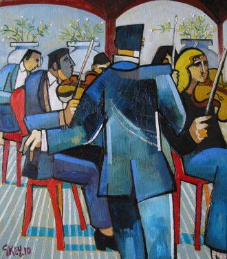 Pavilion player Geoffrey Key Artist