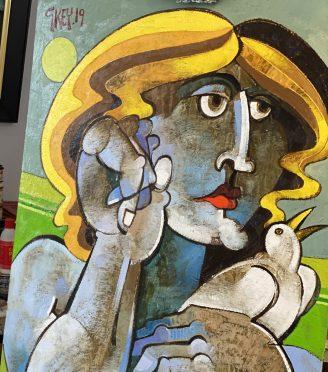 Geoffrey-Key-artist-studio