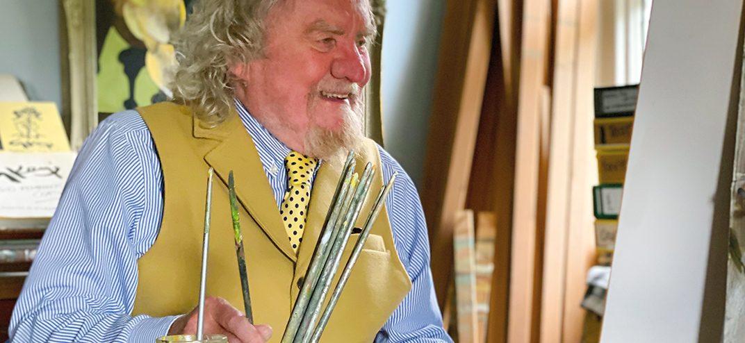 Geoffrey Key in studio