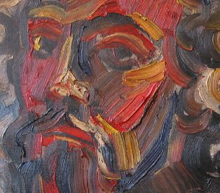 1973 oil portrait Geoff key