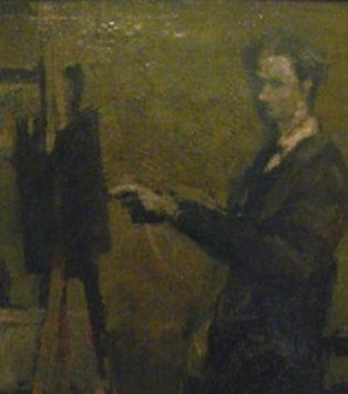 1959 Geoffrey Key self portrait