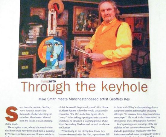 Artist Geoff Key Paper